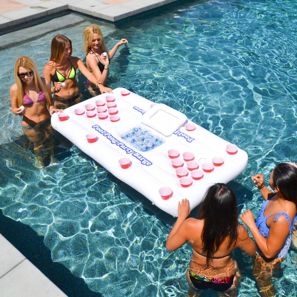 船河 beer pong 準備