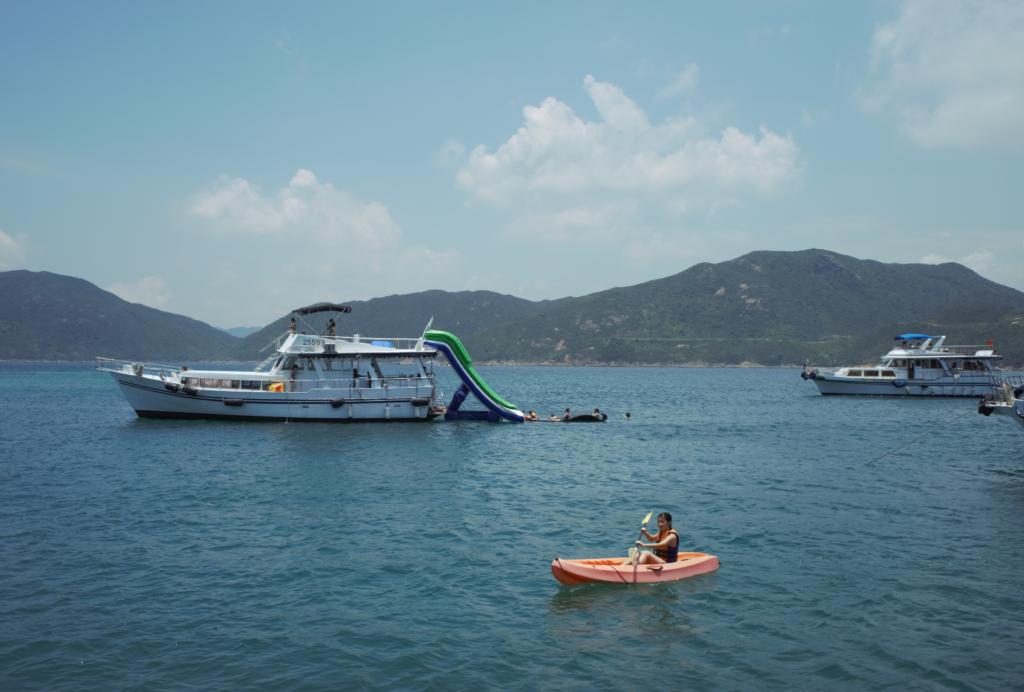 Kayaking in Boat Rental in Hong Kong