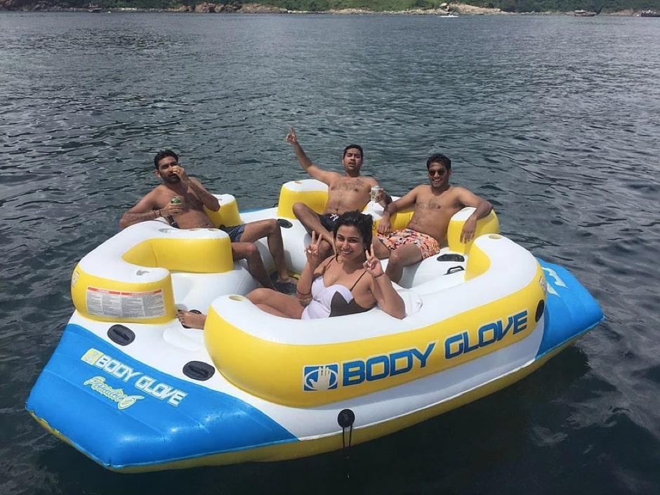 游艇水上活動